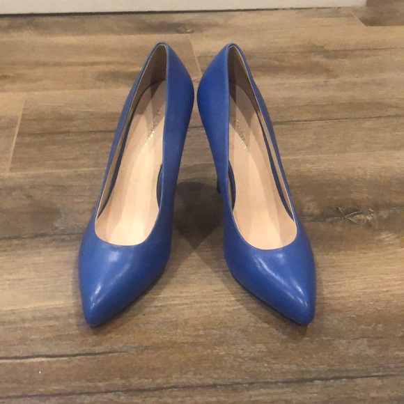 Brand new pointy toe Blue pumps